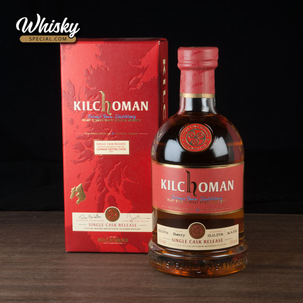 Kilchoman Single Cask for German Tasting Tour, 2006/ 2011, front