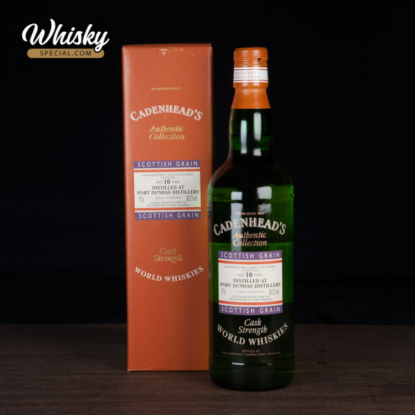 Port Dundas, 10-year-old, Cadenhaeds, Authentic Collection - World Whiskies