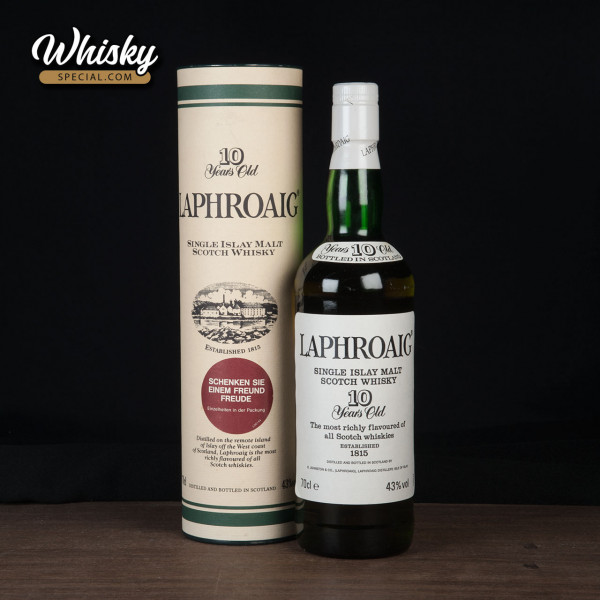 Laphroaig, 10-year-old, Without Royal Warrant