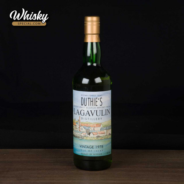 Lagavulin, 1978 RWD, Duthie & Co., front
