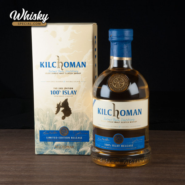 Kilchoman 100% Islay, 2nd Edition, front