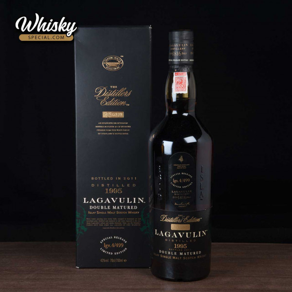 Lagavulin, 1995/ 2011, The Distillers Edition, front