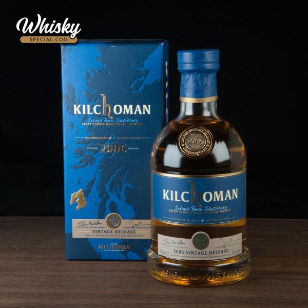 Kilchoman Vintage Release, 2006/ 2011,