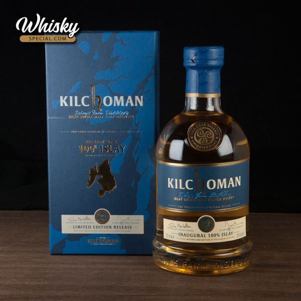 Kilchoman 100% Islay Inaugural Release 2011, front
